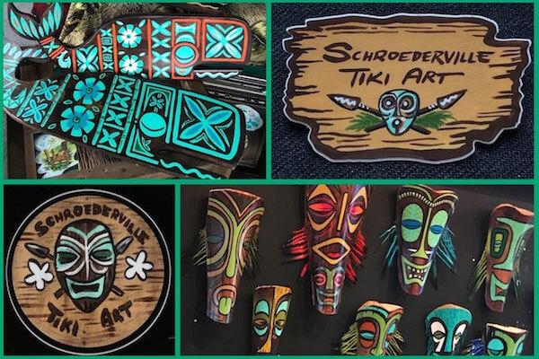 Schroederville Tiki Art